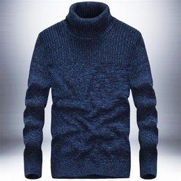 Sous-vêtement pull en Ligne-Pull en tricot patchwork plat prix de gros, manches longues 100% coton deportes pullover sous-vêtements, col roulé casual sweate