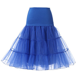 Wholesale ivory petticoats - Short Bridal Petticoat Crinoline Vintage Wedding Petticoat for Wedding Dresses Underskirt Rockabilly Tutu Rock and Ballet Skirt