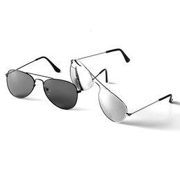 óculos de sol piloto mercúrio Desconto 2018 novos óculos de piloto de moda homens mulheres vintage polarizado verão mercúrio ultravioleta-prova BOYS AND GIRLS 'óculos de sol F80