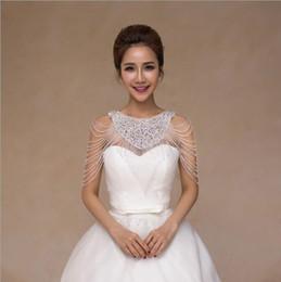 Cadeia de charrete on-line-Corrente de noiva ombro casamento colar de diamantes epaulets Colar colarinho rendas borla acessórios coreano novo luxo