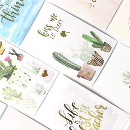 paper notebooks designs Coupons - Domikee cute cartoon cactus design notebooks index paper divider accessories,fine office school paper board bookmark stationery