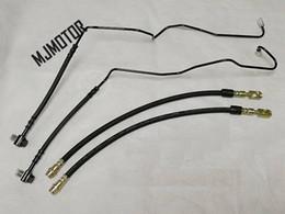 2019 китайские каучуки Передний и задний тормозной шланг резиновый кабель для Китайский блеск V5 авто мотор частей 3497009 дешево китайские каучуки