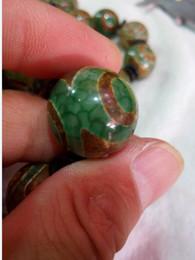 2019 pedras de jade vermelhas soltas China Natural 20mm Tianzhu Jade Beads Frete Grátis F3