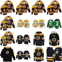 Mens Womens Youth Boston Bruins Hoodies Jersey 4 Bobby Orr 37 Patrice  Bergeron 46 David Krejci 63 Brad Marchand Custom Hockey Jerseys 9e9f8ee2d