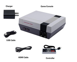 Wholesale Free Games Nes - Mini HDMI Game Console Video Handheld 30 for NES games consoles with retail box free shipping