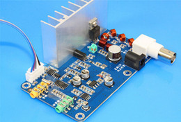 Wholesale monitor power board - Freeshipping FM 5W stereo PLL FM transmitter suite 7W maximum power frequency adjustable volume finished board BNC with LCD Monitor