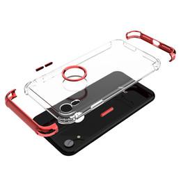 Haute Qualité Transparent TPU Placage Trois Étages Téléphone Coque Cover Shield Pour iphone X / XS / XS MAX avec Opp Sac Paquet DHL ? partir de fabricateur
