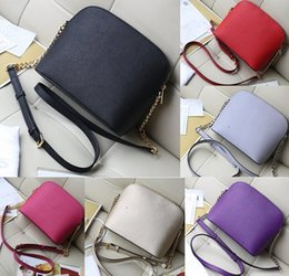 Wholesale Michael Handbags - 2018 New Famous Brand Designer Fashion Women Luxury Bags MICHAEL Lady Shell Kos PU Leather Handbags Brand Bags Purse Shoulder Tote Bag