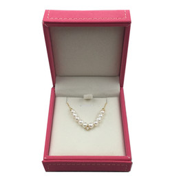 2019 sonrisa de perla Collar de perlas naturales en 18 k Au750 incrustaciones de oro alto lustre colgante de piedra de moda diseño de cara sonriente para mujeres niñas mamá rebajas sonrisa de perla