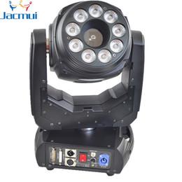Le lavage polyvalent 9 * 10W LED de modulation analogique allumant la lumière laser principale mobile de 5W RVB avec l'interface d'ILDA et la carte SD ? partir de fabricateur