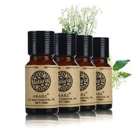Wholesale massages oil - AKARZ Famous brand Ylang Lemon Vetiver Clove essential oil Pack For Aromatherapy Massage Spa Bath