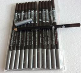 ePacket LIVRAISON GRATUITE CHAUD bonne qualité le plus bas Meilleure vente bonne vente Nouveau EyeLiner Lipliner Crayon Douze couleurs différentesBrownBlack ? partir de fabricateur