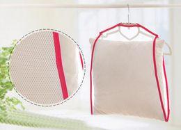 Marco fijo online-Hot 300 unids Balcón marco a prueba de viento almohada fija almohada multifuncional juguetes secado bastidores de secado bastidores colgando bastidores Net Home Container