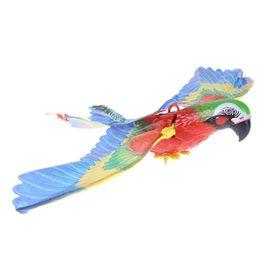 Wholesale Bird Toys Parrot - Electric Bird Talking Parrot Digi Birds Intelligent Pets Kids Children Electronic Pets Call Spread Wing Electric Hang Parrot Toy