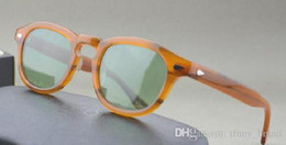 Wholesale Frame Sizes - New arrive 12 colors S M L size eyewear sun glasses top Quality UV400 johnny depp lemtosh sunglasses with original packing
