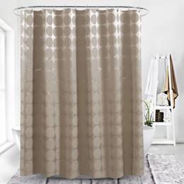 3D Mocha Ball Digitaldruck wasserdichte verdickende Duschvorhänge für Badezimmer mit Kunststoffverschluss Bad-Accessoires für Bad von Fabrikanten