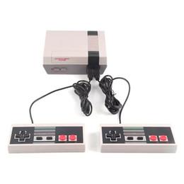 2019 consola portátil consola Nueva llegada Consolas de juegos NES 620 500 Juegos clásicos Mini TV Videojuegos Reproductor retro portátil NES para PAL NTSC con caja para minoristas