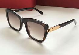 e3fb52e25f9 Mulheres retangulares óculos de sol SF763S tartaruga   marrom Gradiente  Sonnenbrille Designer Square óculos de sol desgaste dos olhos verão novo na  caixa ...