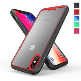 2019 celulares ericsson Para iphone xs max xr 8 plus 7 6 s 6 à prova de choque bumper hard armor pc limpar case celular capa protetora celulares ericsson barato