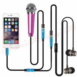 ordinateur portable casque Promotion 3.5mm Stéréo Splitter Audio Écouteur Casque Casque 2 Voies Splitter Microphone Adaptateur pour Iphone Ipod Mp3 Pc Casque Ordinateur Portable