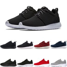 lightweight hiking shoes for men Coupons - New designer Running Shoes for men womens black red Lightweight Breathable Jogging London Olympic men Sports Sneakers Trainers free shipping
