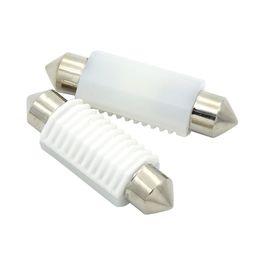 Wholesale Canbus Error Free - 4X 31 36 39 41mm C5W 3030 Ceramic LED Car Festoon Dome Interior Reading Light Map Lamp Bulb DC12V 24V Canbus Error Free