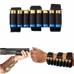 Airsoft Hunting Molle 8 asaltos GA Porta escopetas Portacarretes Tiroteo Banda 12 Medidor Bullet Munición Cartucho Bolsa desde fabricantes