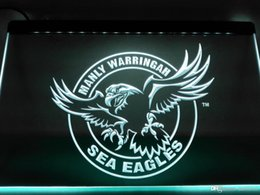 Wholesale neon sign eagles - LD377- Manly Warringah Sea Eagles LED Neon Light Sign