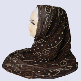 Wholesale wholesale capes for women - chiffon Scarf for Muslim wrap Hijab lot cape female sciarpa and stoles scarfs bufanda mujer Shawls Shawl women wraps scarves