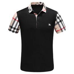 Preto O-pescoço tee 2018 New Fashion Chest bordado Lobo Dos Homens T shirt de Manga Curta Casual t-shirt Hipster Padrão Fractal tees Tops Legal # 4406 de