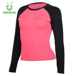d311287584 night shirts for women Promo Codes - Women Running T-Shirts Long Sleeve  Shirt Reflective