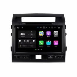 "Wholesale land cruiser gps radio - Q2GB RAM Quad core 9"" Android 7.1 Car DVD GPS Navigation for Car DVD Toyota Land Cruiser 2008-2012 With Radio Bluetooth WIFI 16GB ROM DVR"