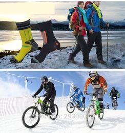 Wholesale Thermal Socks For Women - Top Quality Winter 100% waterproof socks breathable Thermal Ski Socks Sport Snowboard Cycling Socks Leg Warmers For Men Women