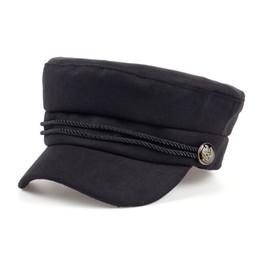 Wholesale winter felt hats for women - Fashion Blank Black High Quality Newsboy Caps for Women Spring Autumn Winter Hats Felt Cap Winter Ladies Black Hat Beret Cap