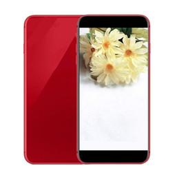 Wholesale Video Single - 5.5 inch Goophone 8 plus 8+ Quad Core MTK6580 1GB RAM 4GB ROM 3G WCDMA Unlocked phones shows 256GB with sealed box
