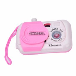 Giocattoli educativi di apprendimento dei bambini Mini Caramella bella colorare Scattare foto Studio Camera giocattolo Bambino nato Regali di compleanno per bambini da