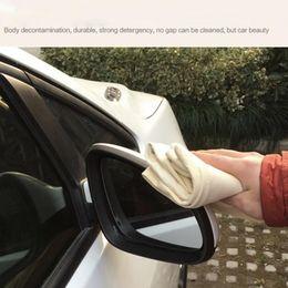 Panni per auto online-45 * 75 nuovi arrivi !!! Asciugamano assorbente scamosciato in pelle scamosciata lavato in lavatrice