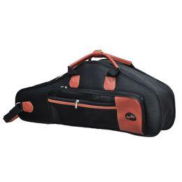 Wholesale Nylon Soft Case - Water-resistant Oxford Cloth Bag Padded Advanced Fabrics Sax Soft Case Adjustable Shoulder Straps Pocket for Alto Saxophone