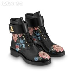 vvtisks5 BOOT FLOWER WONDERLAND FLAT RANGER CHEVILLE FEMMES 1A4GUU Femmes Escarpins Mocassins Ballerines Ballerines Espadrilles Coins Sneakers Bottes Bottes ? partir de fabricateur