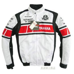 summer motorcycle jacket xxl Promo Codes - MOTOGP Summer Mesh Jacket For YAMAHA Racing Team 50-year Anniversary Motorcycle Riding Jacket