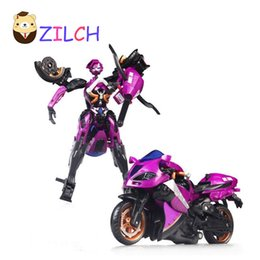 Wholesale Plastic Motorcycle Toys - Motorcycle Model Doll Al West Carroll Robot Car Action toys Anime Plastic Toys Action Doll Boys Gift For Boy
