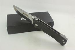 Wholesale High Carbon Pocket Knives - High Quality Samier Knives Custom Redencion Pocket Folding Knife Cts-xhp Steel Blade Carbon Fiber Handle Tactical Survival Camping Knives
