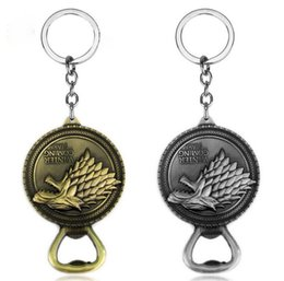 games for bar Coupons - New Game of Thrones Bottle Opener Keychain Bar Beer Wine Tool House Stark Winter Is Coming Metal Keyring Key Chain Ring For Fans