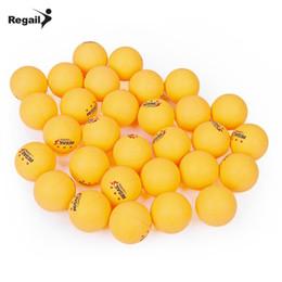 Argentina REGAIL 30Pcs Juego de 3 bolas de tenis de mesa de 40 mm Práctica de ping pong Juego de pelotas de ping pong profesional para deportes Suministro