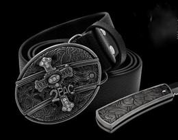 2019 deporte de defensa Venta caliente Moda fresco águila cabeza tarjeta de juego cruz novela 10 estilo hebillas de cinturón cinturones y autodefensa oculta Deportes al aire libre cinturones cuchillos deporte de defensa baratos