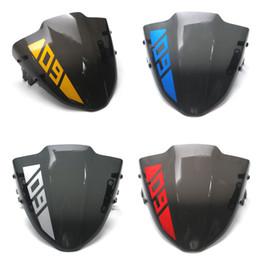 MTKRACING NEY MT09 Moto pequeno Pára-brisa tela de vento Para Yamaha MT09 MT-09 FZ-09 MT 09 FZ09 2017 2018 2019 de