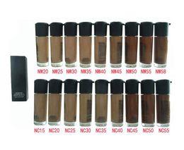 15 botellas online-NUEVA Calidad Maquillaje NC NW Colores MATCHMASTER Base Líquida SPF 15 35 ML Maquillaje Facial NC NW Colores Fundación Gafas Botella