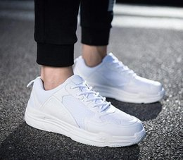 Wholesale Dancing Shoes Buckles - 2018 new men women shoes Sports Dancing Sneakers ance Lace Up Dancing Boots Black Tan Green White casual shoe