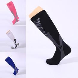 Wholesale magic socks - Compression Socks for Men Women Running Socks Sport Socks for Running Magic compression socking 4 Colors Support FBA Drop Shipping G460Q