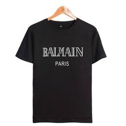 Wholesale Quality Street Wholesale - 18ss Summer Street wear Europe Paris Fashion Men High Quality Big Broken Hole Cotton Tshirt Casual Women Tee T-shirt 2xs-4XL